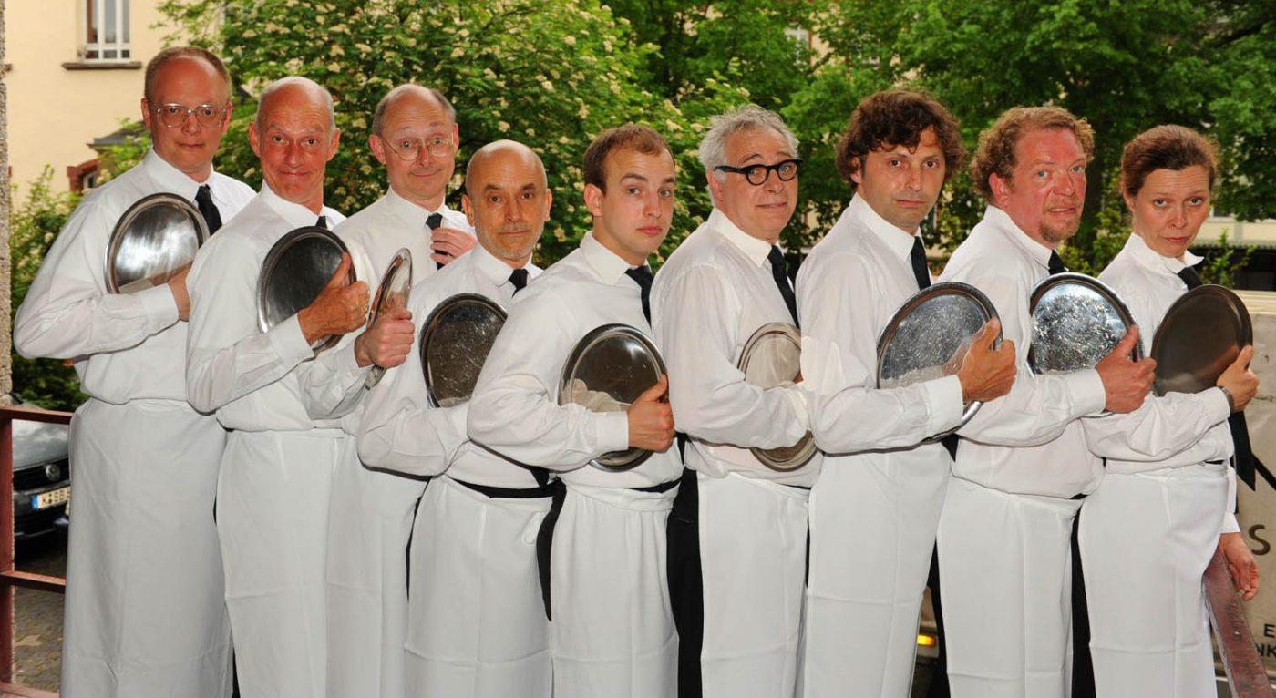 Gruppenfoto Kellner