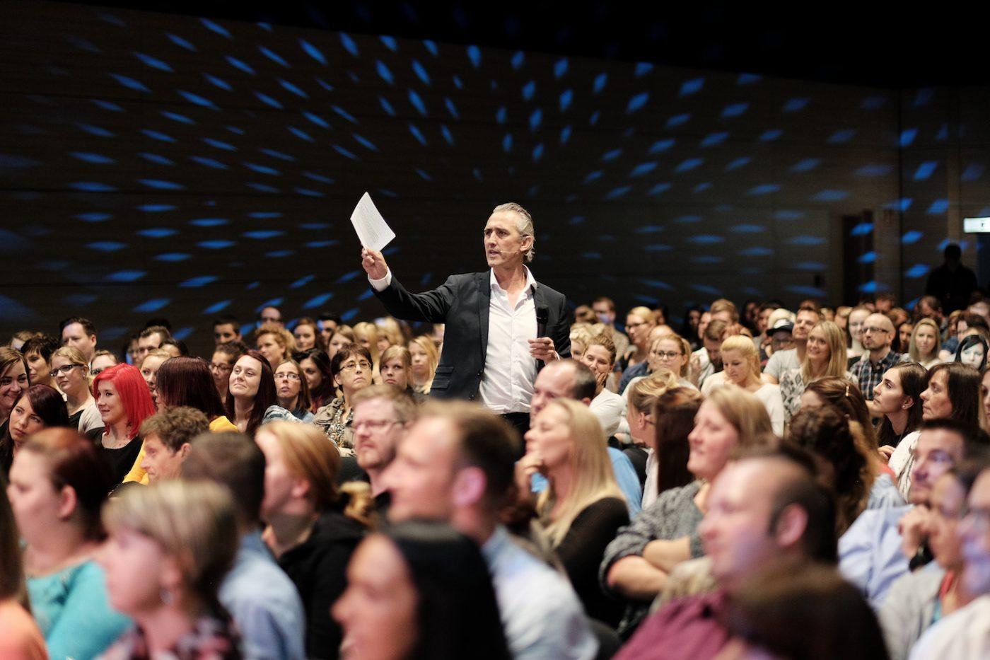 Michael Bandt während seiner Keynote